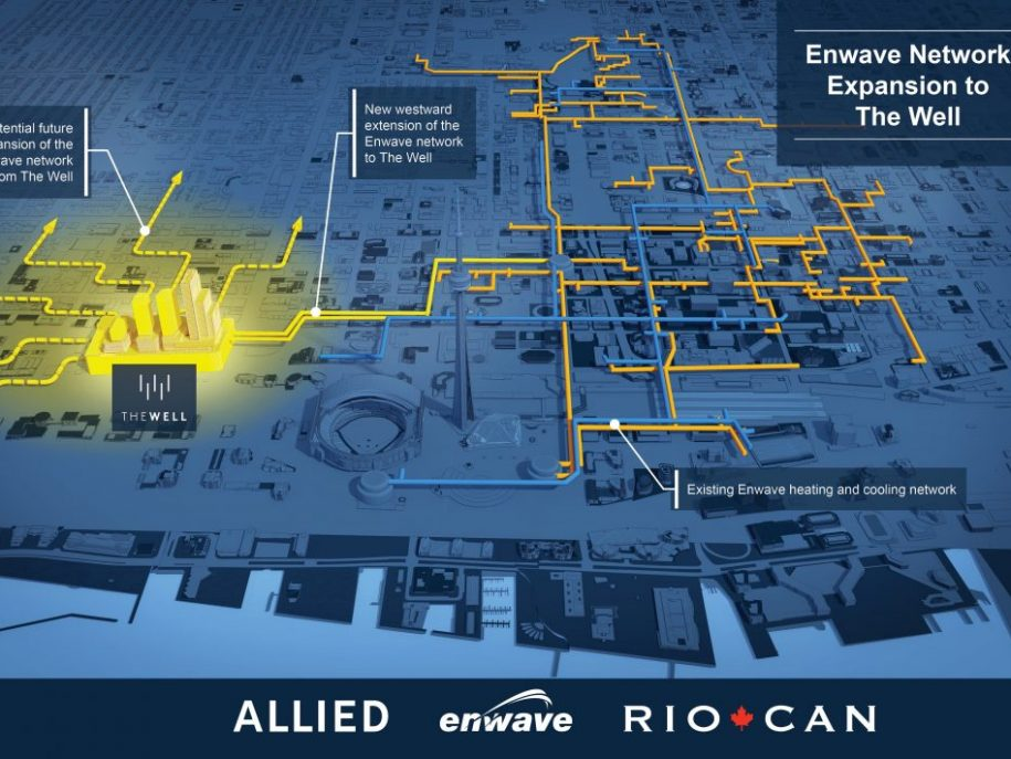ALLIED, ENWAVE AND RIOCAN TO ACCELERATE EXPANSION OF THERMAL ENERGY SYSTEM IN TORONTO