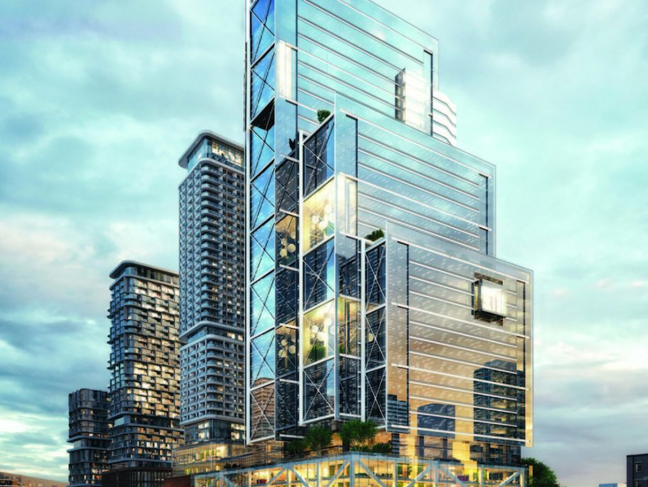 "New Development in Toronto Is ""Choreographed City-Building"""