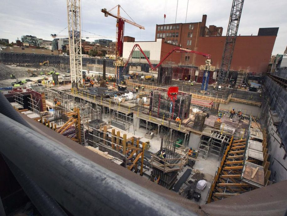 Digging deep: a look at the Well and the massive hole at Spadina and Front